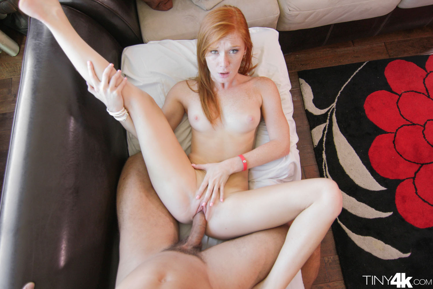 4k tiny redhead gets pummeled by 12 inch black cock 1