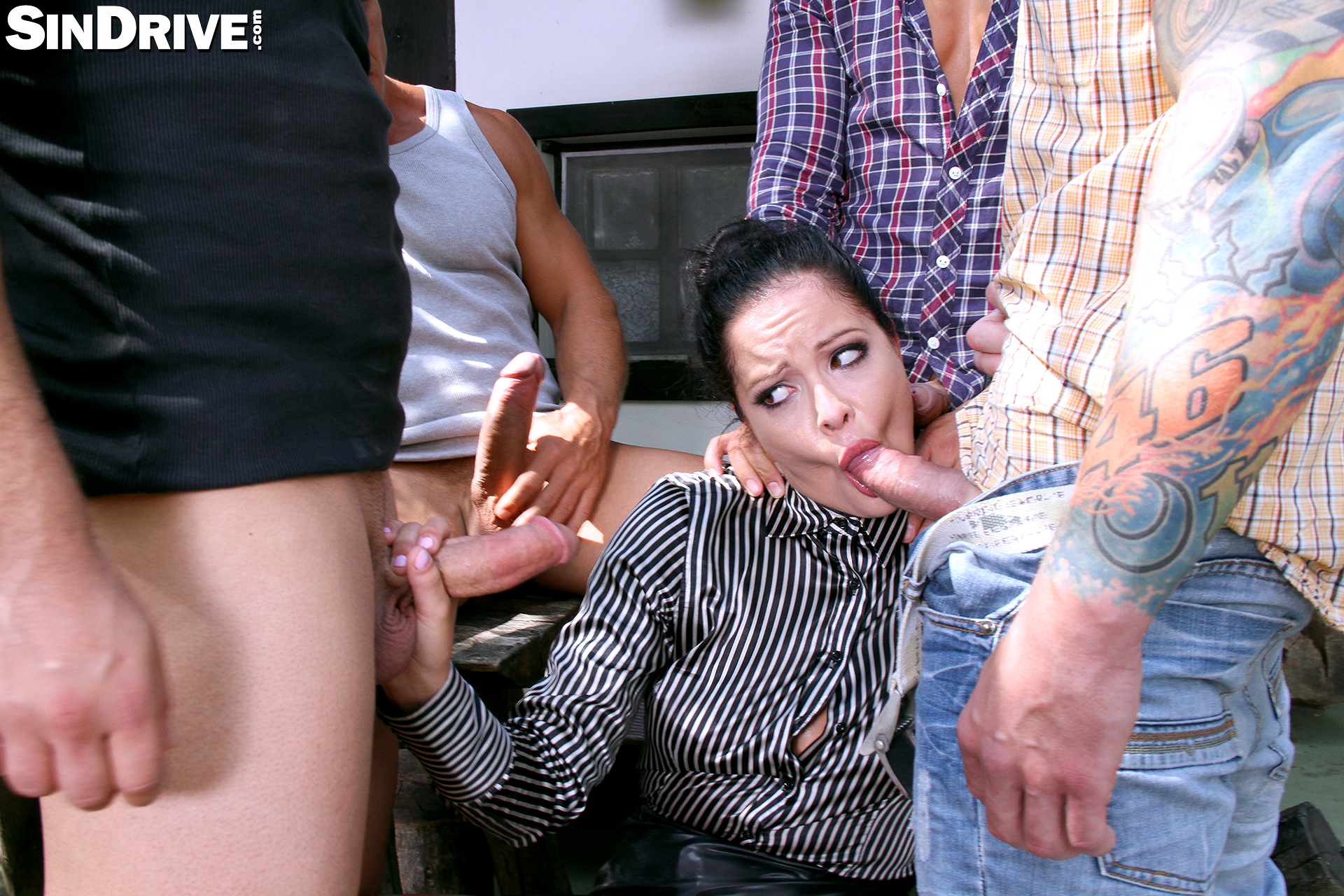 12 mal cumshots in mein gesicht - 3 part 5
