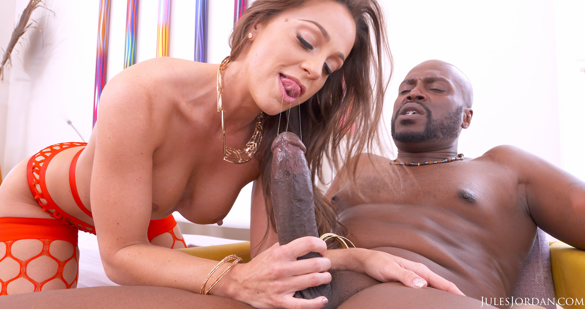 Abigail Mac Shows Her True Lust For Big Black Cock - 4K -8091