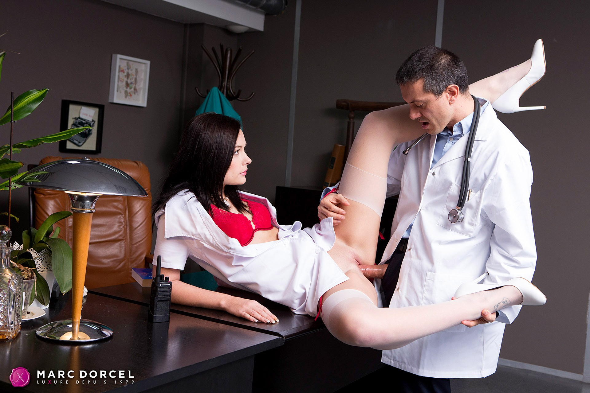 Anna Siline Is Chief Doctors Very Private Nurse - 4K Free -3523
