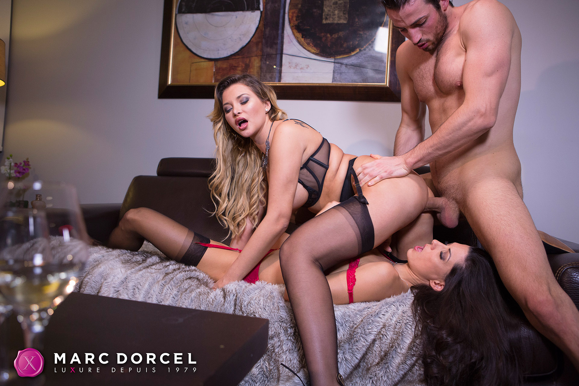 Alexa tomas first threesome - 3 part 4