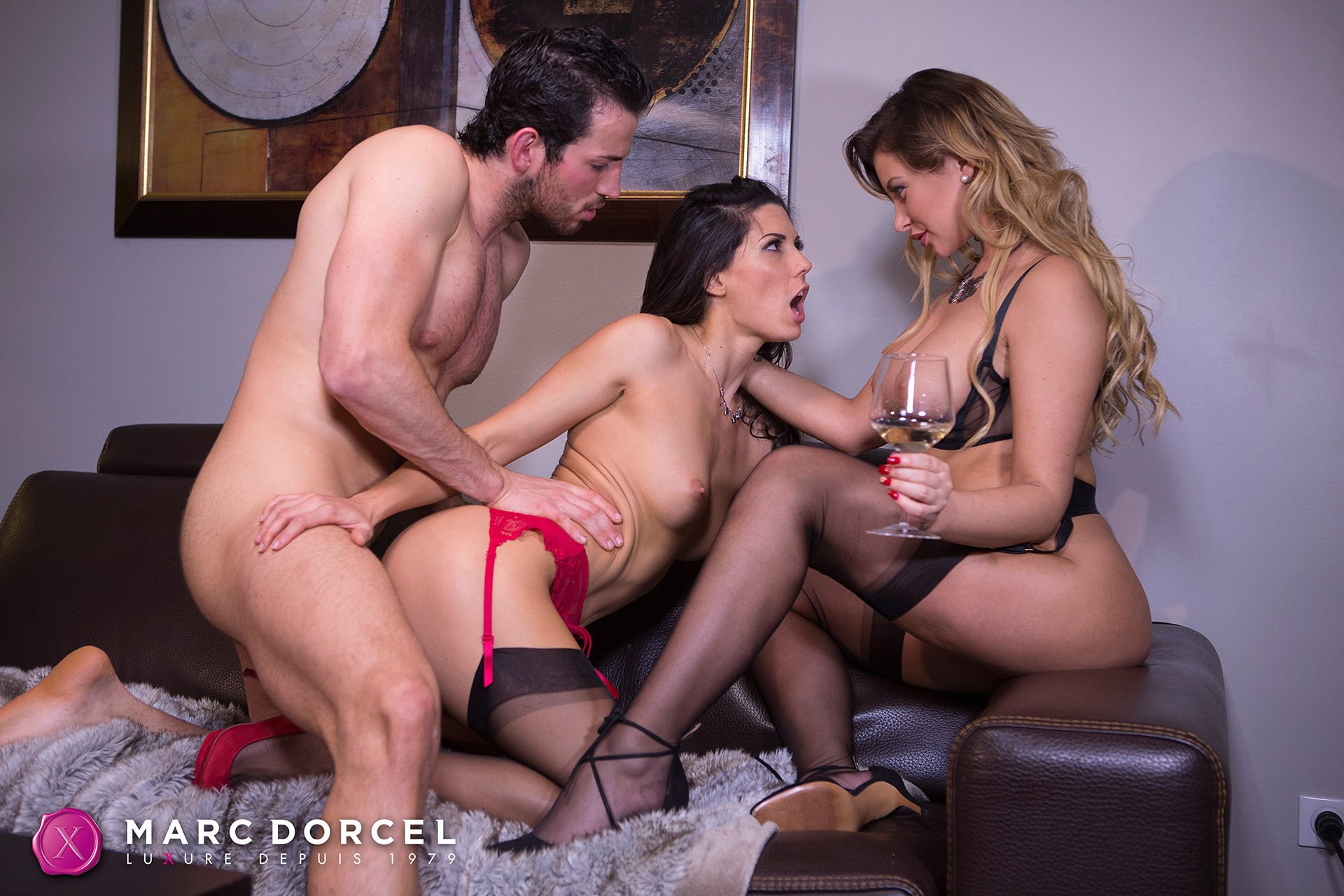 Alexa Tomas And Anna Polina In Hard Intense Sex Party - 4K -8480