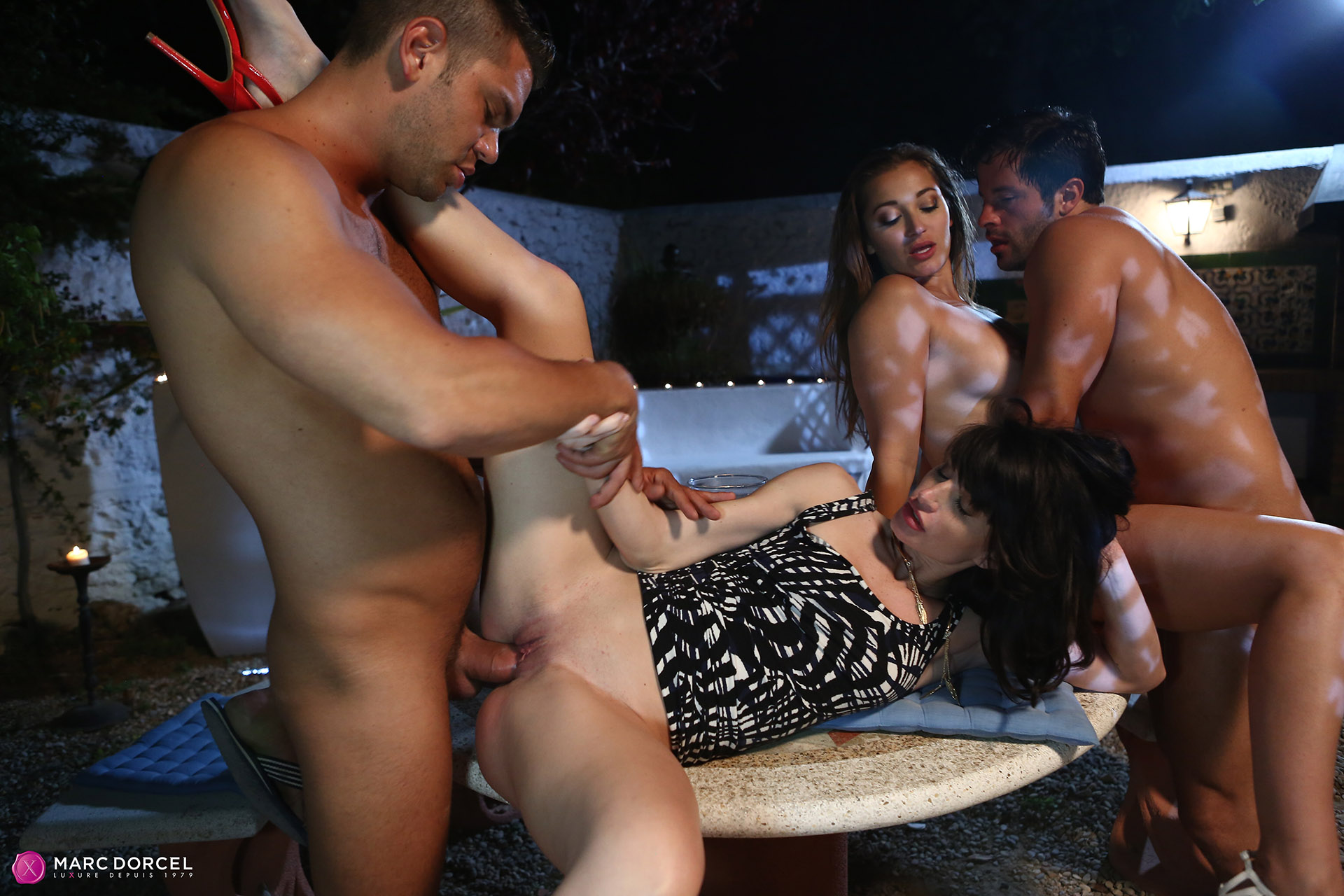 Hotwifes first time with 2 bbc lovely creampie finish - 3 part 9