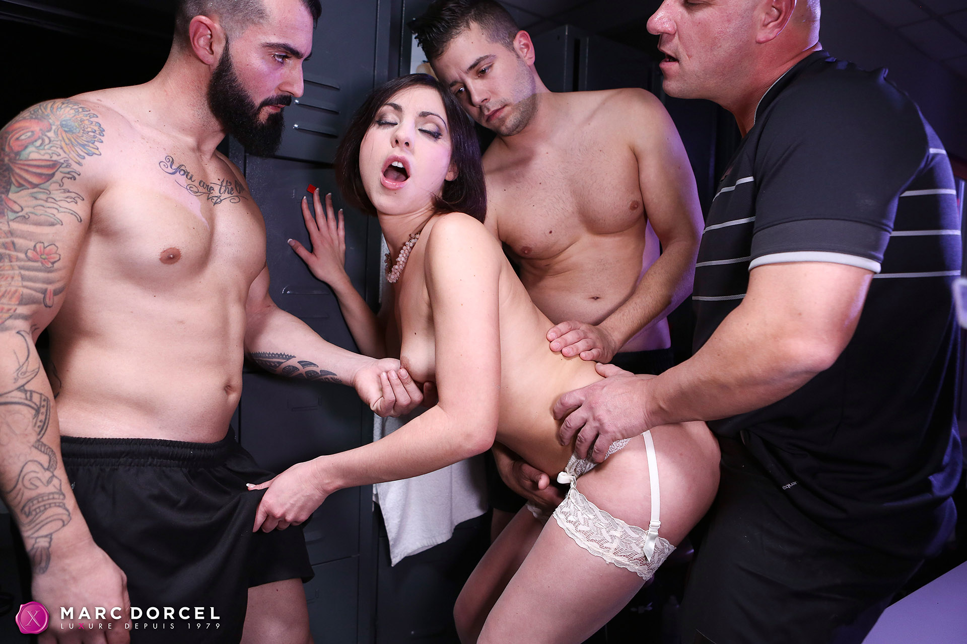 Ines Lenvin In Hard Gang Bang With A Rugby Team - 4K Free Porn-1376