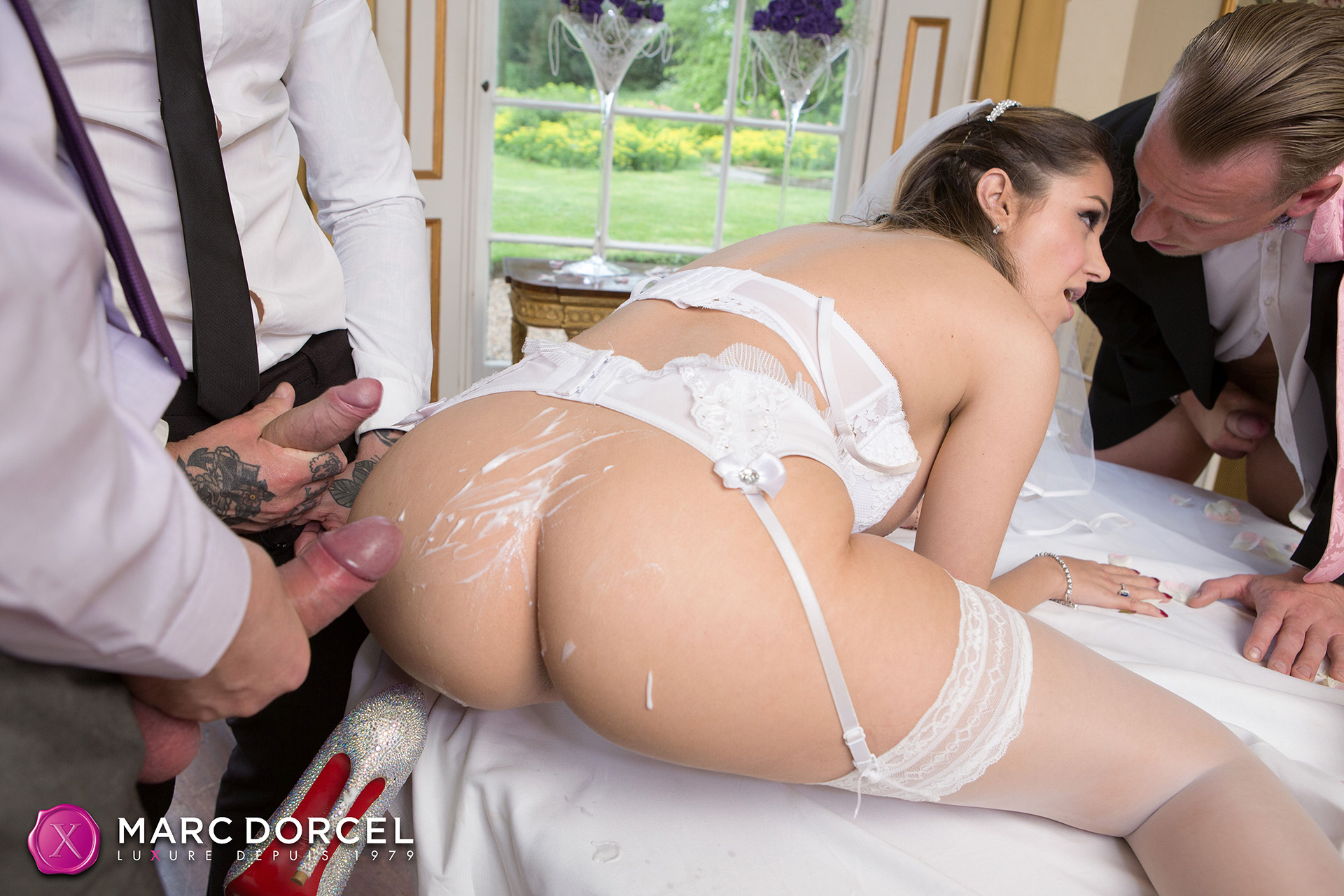 Cara St Germain In Bride Fucked By The Best Men - 4K Free Porn-7307