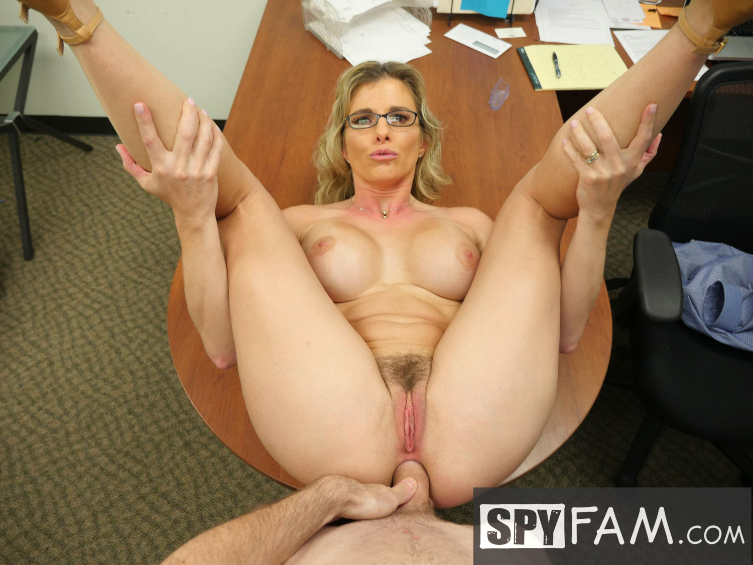 A secretary fucks the company directors 10
