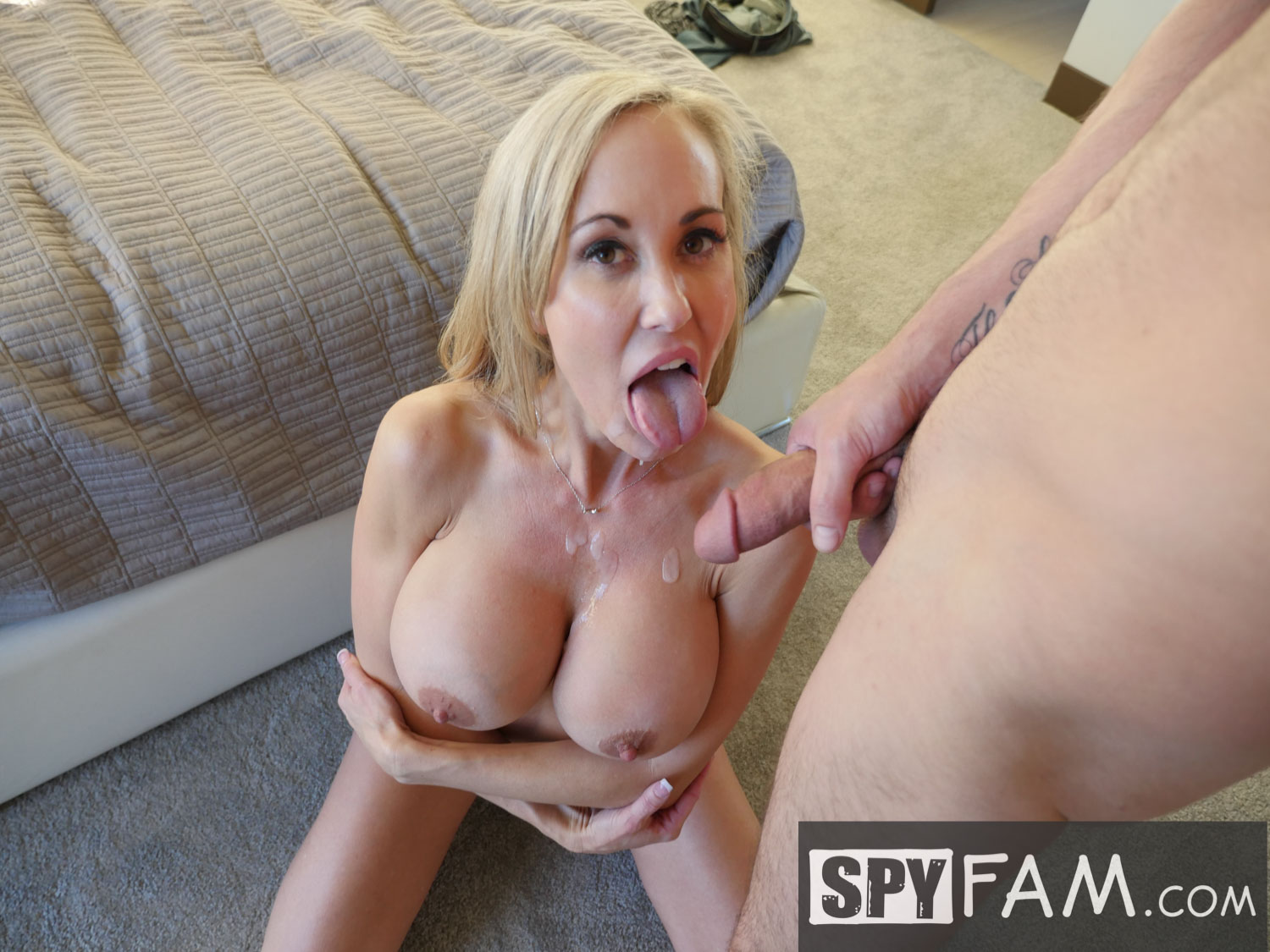 Stepmom Seduces Son Anal