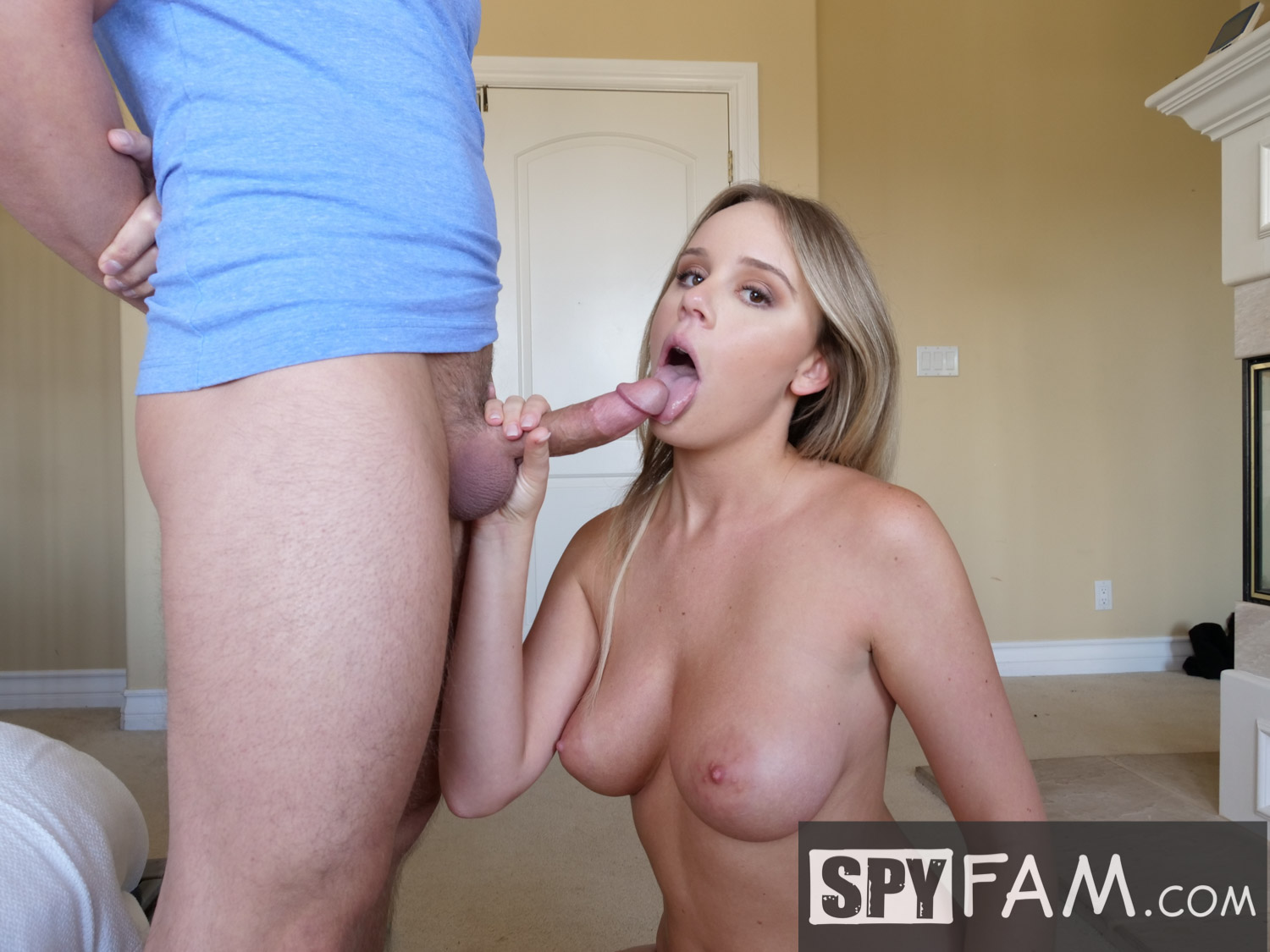 Stepmom Caught Step Son